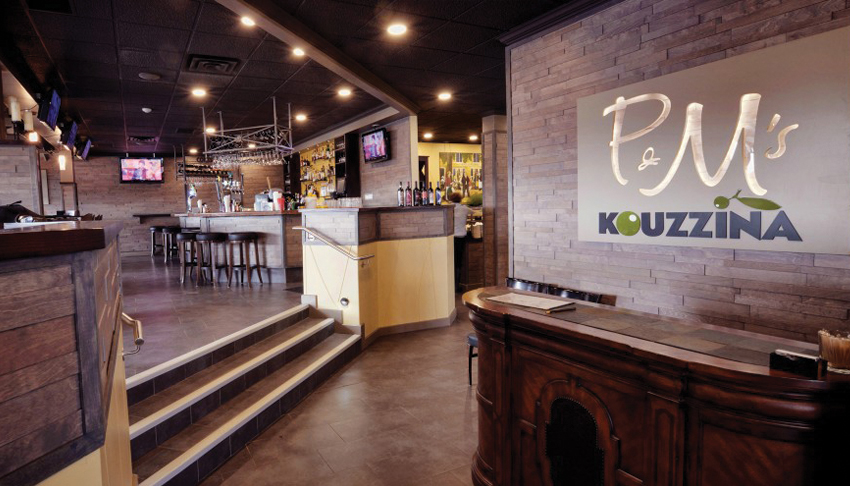 P&M-Kouzzina-Sudbury-Ontario-Mediterranean-Cuisine-Italian-Restaurant-Interior-Lobby