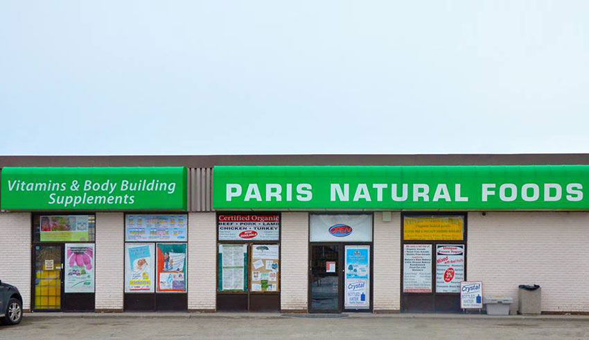 Paris-Natural-Foods-Sudbury-Ontario-Health-Food-Stores-Vitamins-Supplements-Holistic-Health-Street-View-Exterior