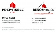 Prep N Sell Reno Magic Sudbury Ontario Home Improvements Renovations Myur Patel