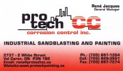 Pro-Tech Corrosion Control Inc Val Caron ON Protech Rene Jacques