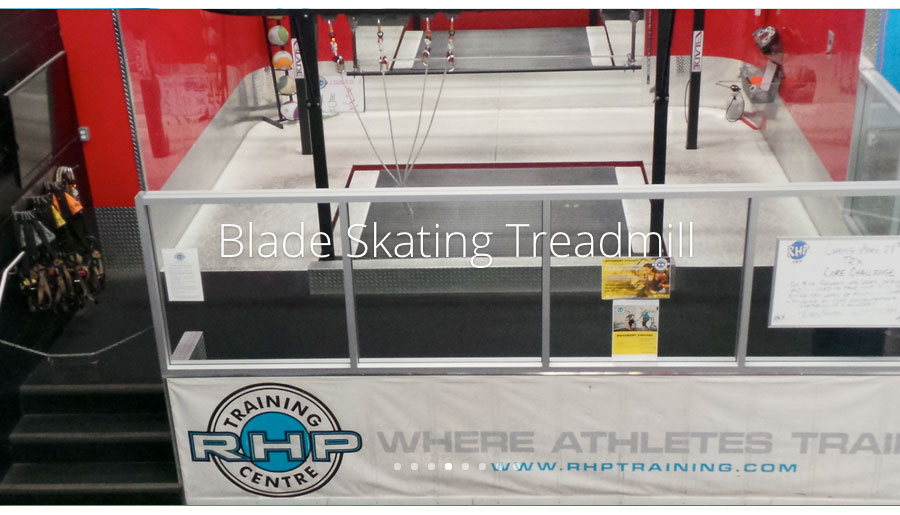 R.H.P. Training Centre Blade Skating Treadmill