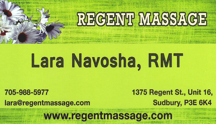 Regent-Massage-Sudbury-Ontario-Registered-Massage-Therapist-Lara-Navosha-RMT-Massage-Therapy