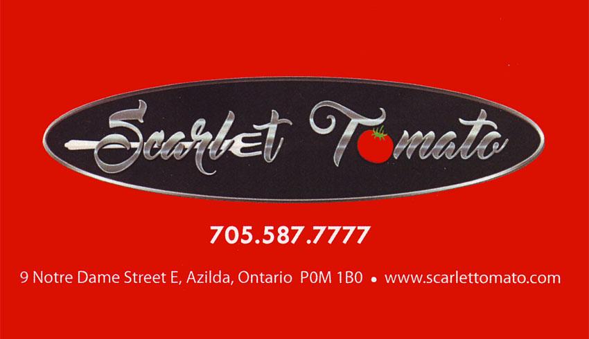 Scarlet Tomato Azilda Greater Sudbruy Ontario Italian Restaurant