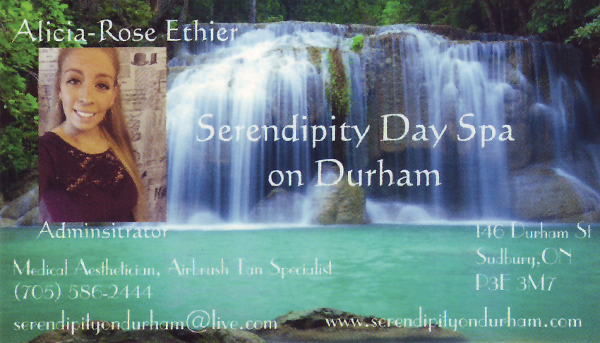 Serendipity-Day-Spa-on-Durham-Sudbury-Ontario-Alicia-Rose-Ethier-Aesthtician-Esthetics-Airbrush-Tanning-2017