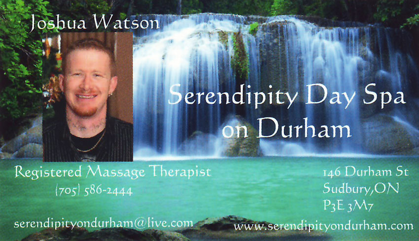 Serendipity-Day-Spa-on-Durham-Sudbury-Ontario-Joshua-Watson-Registered-Massage-Therapist