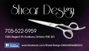 Shear Design Sudbury Ontario Hairdressers and Beauty Salons Hair Stylists
