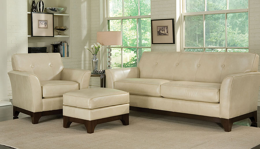 Spencer-Furniture-Sudbury-Ontario-Living-Room-Leather-Sofa