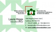 Sudbury District Home Builders Association in Sudbury Ontario Laura Higgs