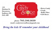 The Candy Store Sudbury Ontario Vintage Candy Gift Baskets and Gift Boxes Candy Buffets and Candy Bars