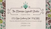 Monique Legault Art Studio Sudbury Ontario Fine Art Murals Painted Furniture Art Galleries
