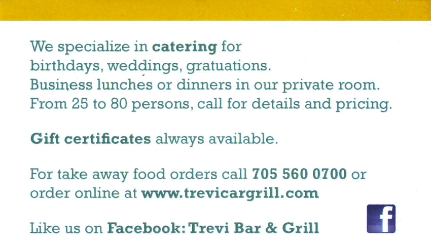 The Trevi Bar & Grill