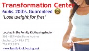 Transformation Center Sudbury Ontario Weight Loss Programs and Fitness Centres