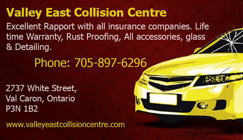 Valley East Collision Centre Val Caron Greater Sudbury Ontario