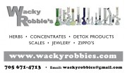 Wacky Robbies in Sudbury Ontario
