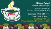 Yes We Do Coffee Services Sudbury Ontario Steve Boyd Coffee Supplies Vending Machines
