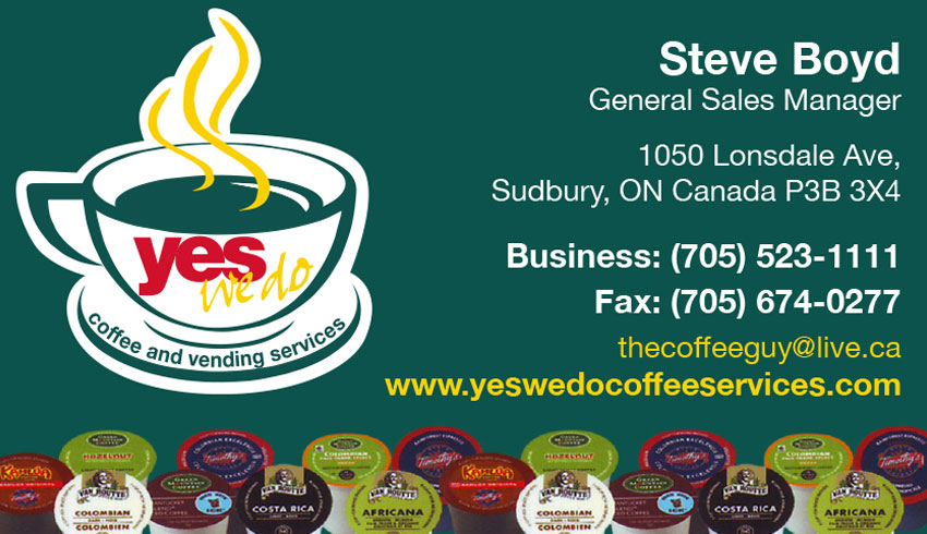 Yes-We-Do-Coffee-Services-Sudbury-Ontario-Steve-Boyd-Coffee-Supplies-Vending-Machines